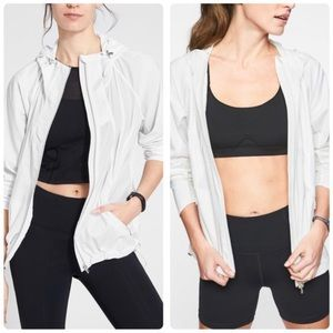 Athleta Catalina Aero Jacket White